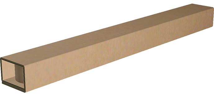 2-way corrugated pallet runner