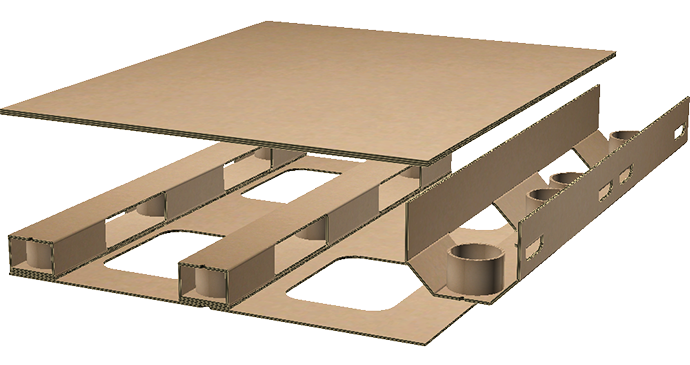 LoadRunner Corrugated Pallets - Construction