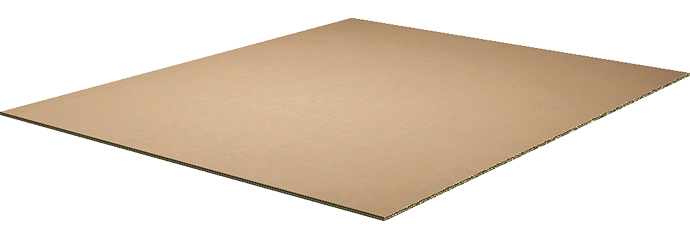 corrugated double wall pallet divider sheet